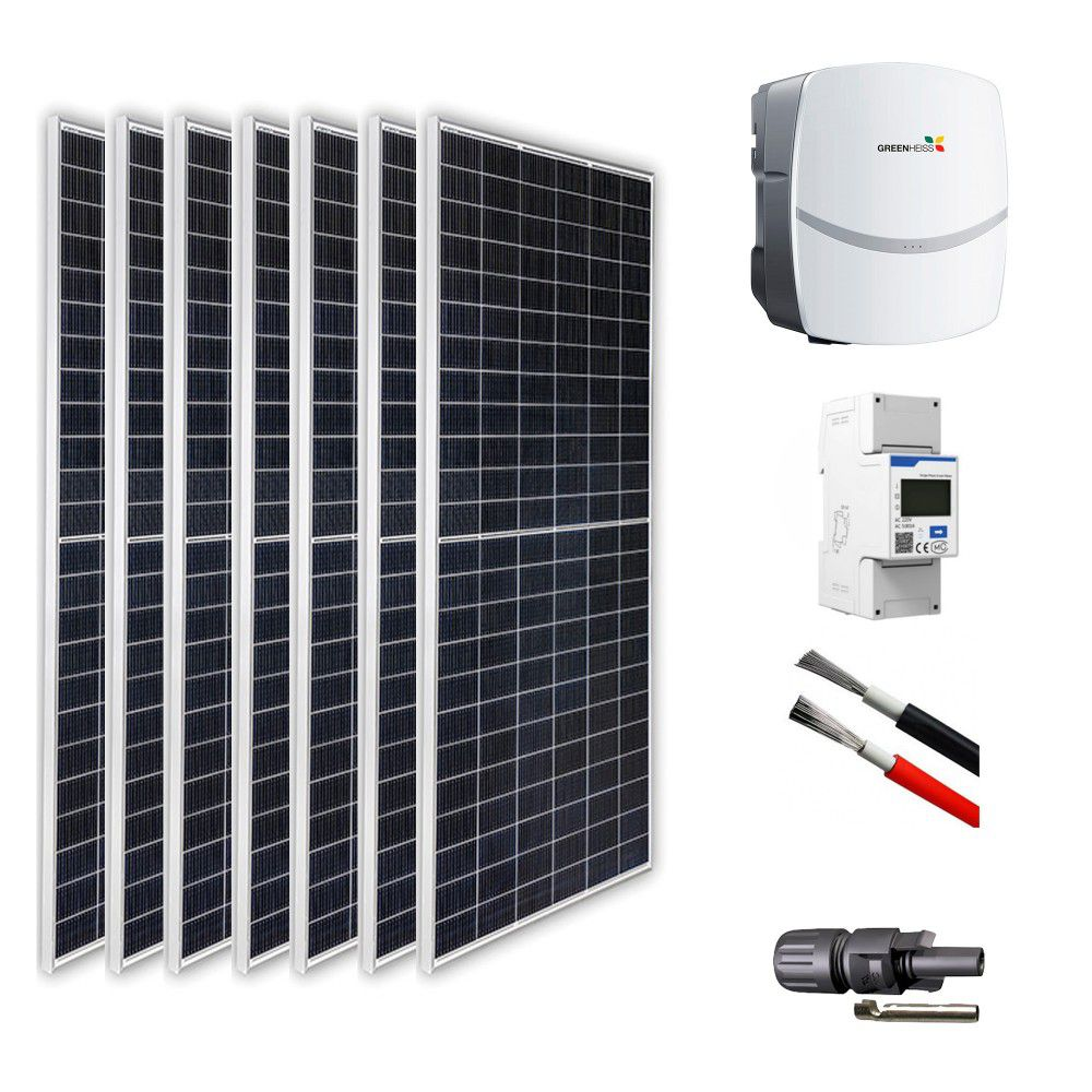 KIT DE CONEXION A RED DE 10 KW GREENHEISS MONOFASICO