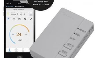 Tutorial del control wifi daikin serie KV